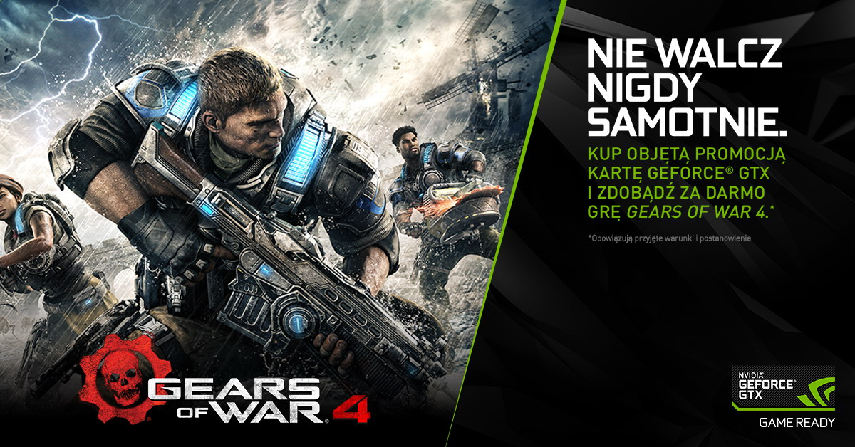 NVIDIA bundle Gears of War 4