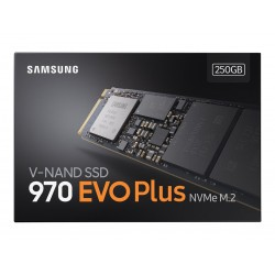 Samsung SSD 250GB 970 EVO NVMe M.2 2280 (read/write 3400/1500MB/s)