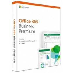 Microsoft Office 365 Business Premium PL 32/64-bit Subskrypcja 1 rok Win10/Mac