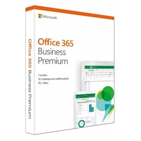 Microsoft Office 365 Business Premium PL 32/64-bit Subscription 1 year Win10/Mac
