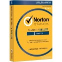 Symantec Norton Security Deluxe 1 user 5 PC - 1 year