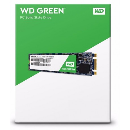 Western Digital SSD 120GB Green M.2 2280 (odczyt/zapis 540/430MB/s)