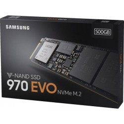 Samsung SSD 500GB 970 EVO M.2 2280 (read/write 3400/2300MB/s)
