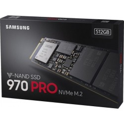 Samsung SSD 512GB 970 PRO NVMe M.2 2280 (read/write 3500/2300MB/s)