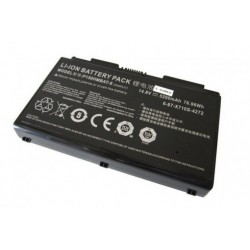 Replacement battery CLEVO P170EM/P170SM/P170HM 8-Cell 76.96Wh