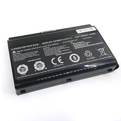 Replacement battery CLEVO W350ETQ/W350STQ 8-Cell 76.96Wh