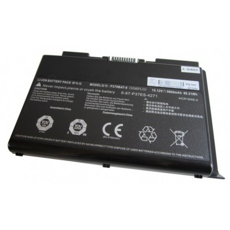 Replacement battery Hyperbook GTR75/77 8-Cell 89.21Wh
