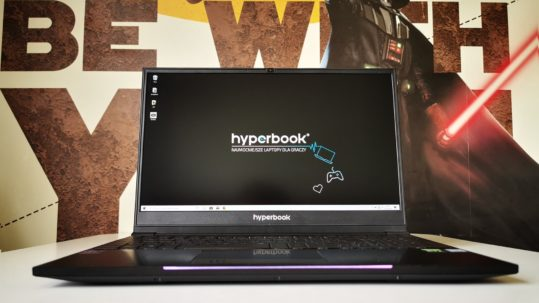 Hyperbook Pulsar Z15S - test Interia 1
