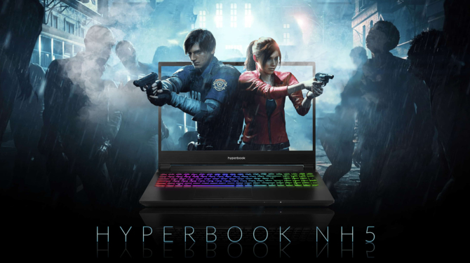 Hyperbook NH5 - test laptopa z kartą NVIDIA GeForce GTX 1660 Ti 4
