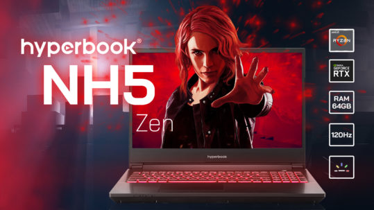 Test Hyperbook NH5 ZEN - Notebook z procesorem Ryzen 9 3900X 9